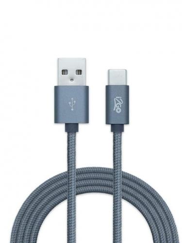 Cabo USB-C - Nylon Trançado