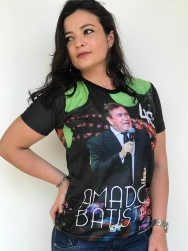 Camiseta Amado Batista 40 Anos