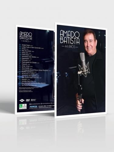CD e DVD Amado Batista 44 Anos (kit)