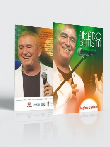 CD e DVD Amado Batista Negócio da China (kit)