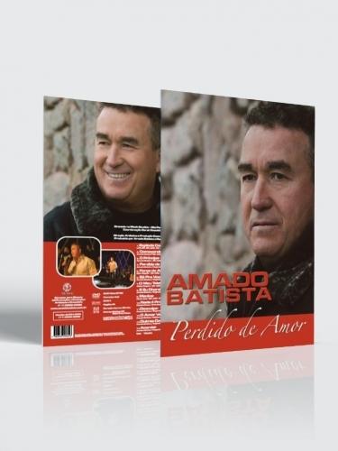CD e DVD Amado Batista Perdido de Amor (kit)