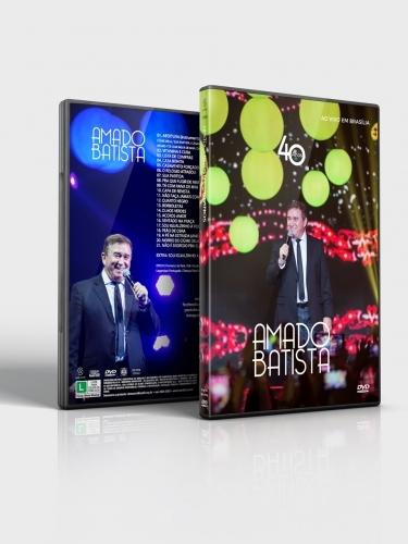 DVD Amado Batista 40 Anos Ao Vivo