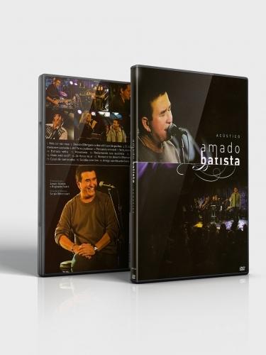DVD Amado Batista Acústico